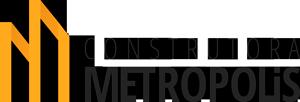 Logo Construtora Metropolis.